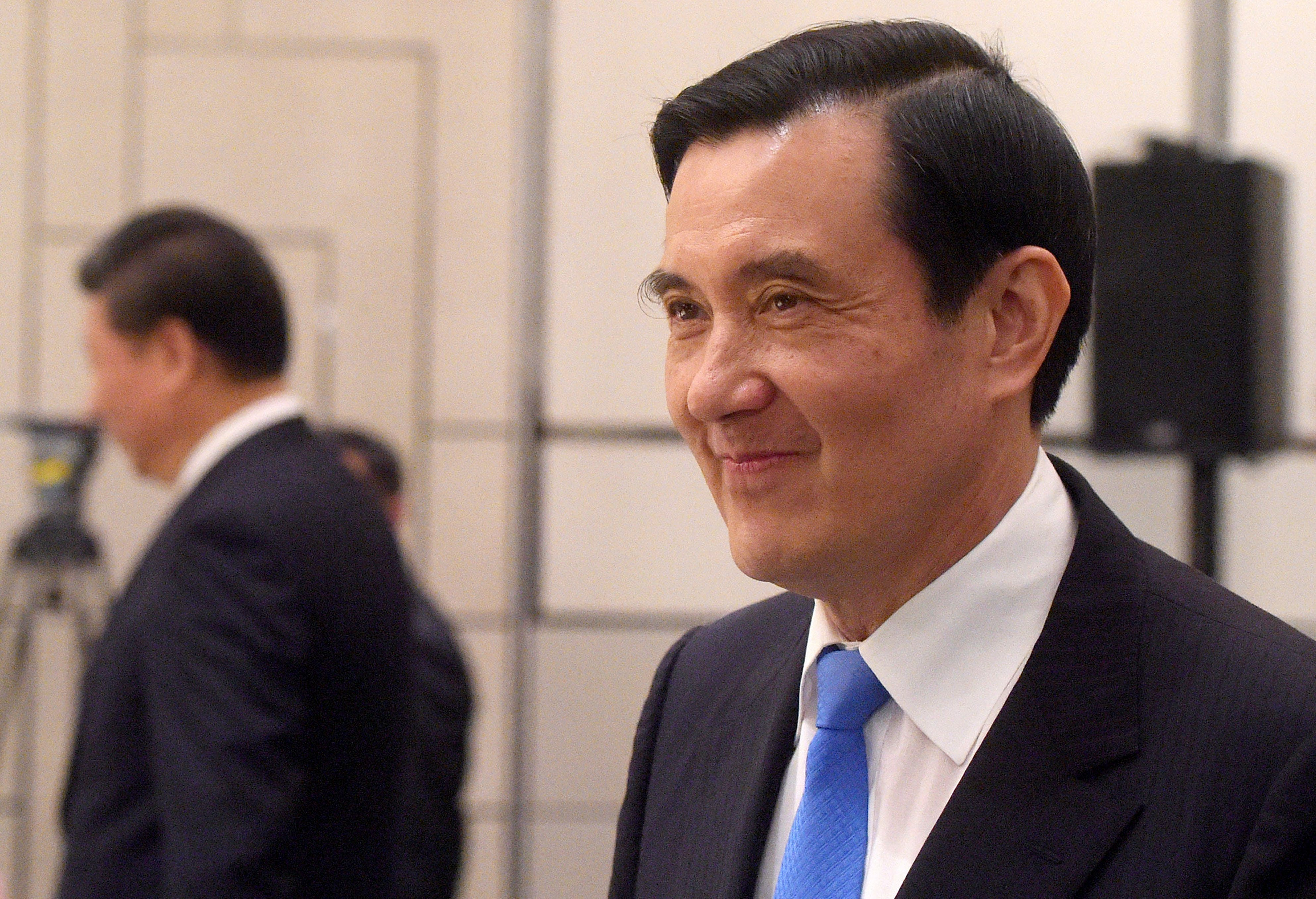 """Ma-Xi: Ma Says He Couldn't Talk about the """"One China, One Taiwan Principle"""" due to ROC Constitution"""