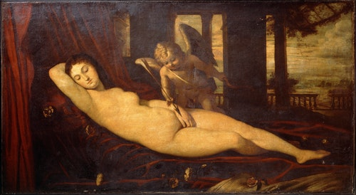Titian, Sleeping Venus
